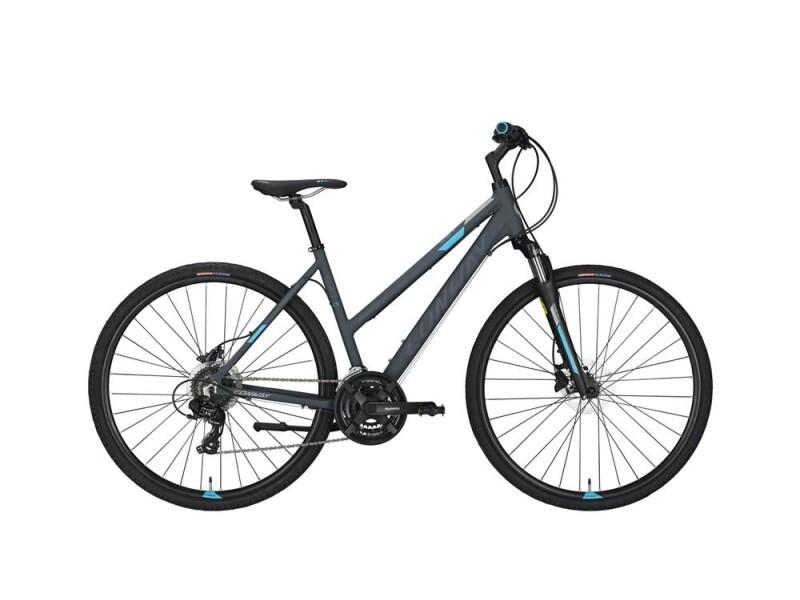 Conway CS 301 Trapez grey matt/blue -44 cm