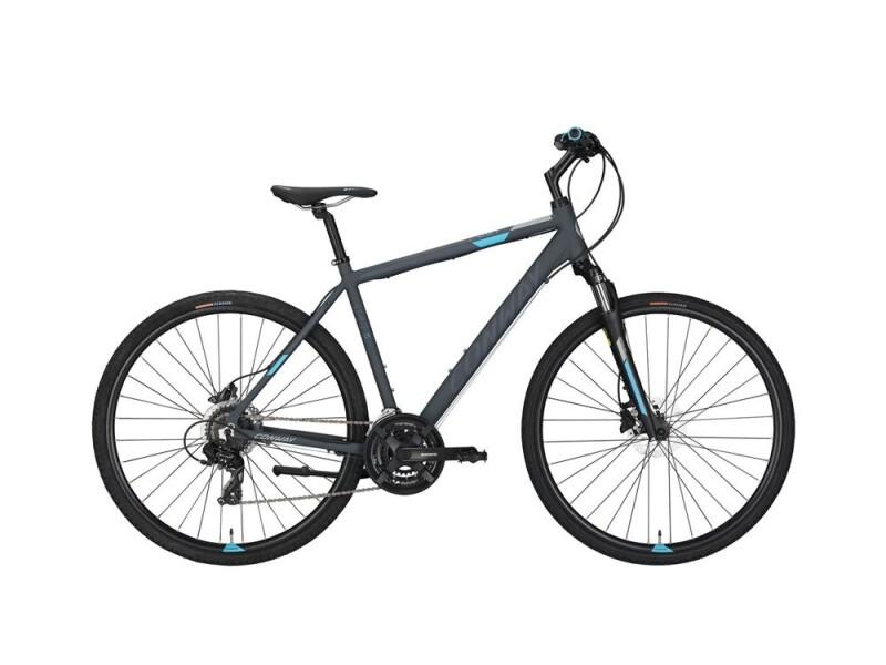 Conway CS 301 grey matt/blue -56 cm
