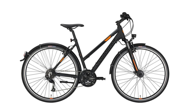 CONWAYCC 400 Trapez black matt/orange -52 cm