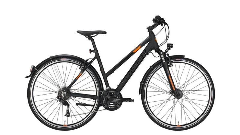 Conway CC 400 Trapez black matt/orange -52 cm Trekkingbike