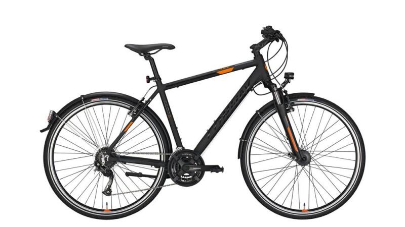 Conway CC 400 black matt/orange -60 cm Trekkingbike