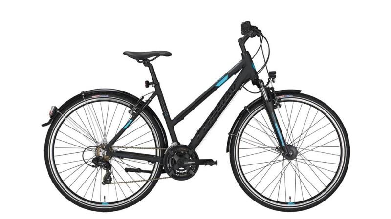 Conway CC 300 Trapez black matt/blue -52 cm Trekkingbike
