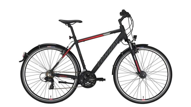 CONWAYCC 300 black matt/red -52 cm