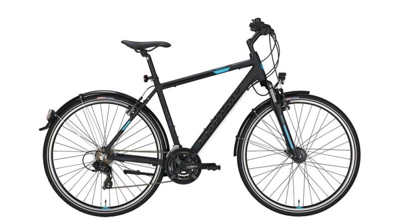 Conway CC 300 black matt/blue -56 cm Trekkingbike