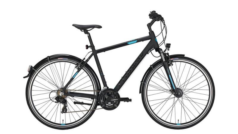 Conway CC 300 black matt/blue -48 cm Trekkingbike