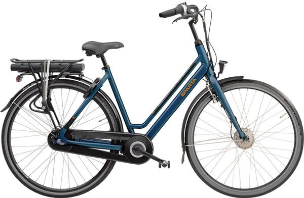 SPARTA - REGULAR-LTD F7e SMART  BLAUW-MAT 400Wh