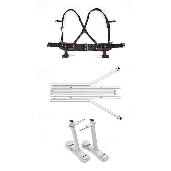 CROOZER - Ski-Adapter-Set