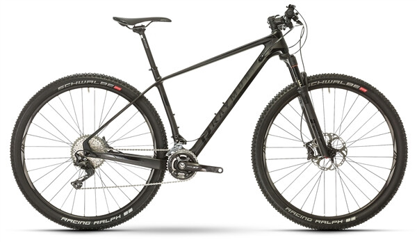 RAYMON - NINERAY 8.0 Carbon Hardtail Schwarz
