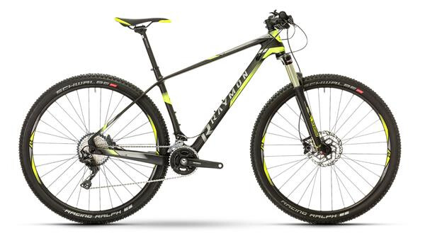 RAYMON - NINERAY 7.0 Carbon Hardtail Schwarz