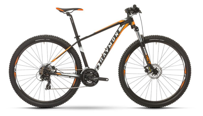 Raymon NINERAY 1.0 Hardtail Schwarz Mountainbike