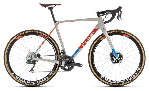 CUBE - Cross Race C:62 SLT grey´n´red