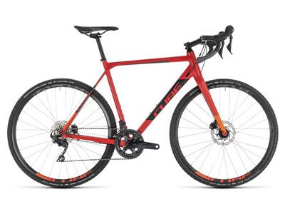 Cube CROSS RACE SL red