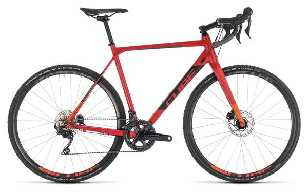 CUBE - Cross Race SL red´n´orange