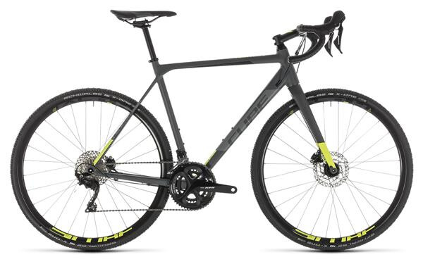 CUBE - Cross Race Pro grey´n´flashyellow