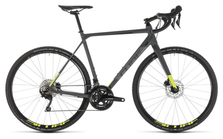 CUBE Cross Race Pro grey´n´flashyellow