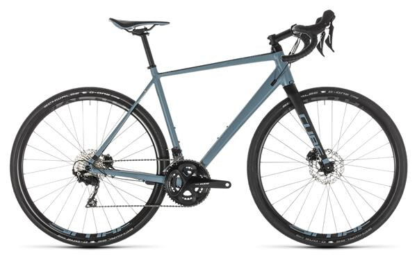 CUBE - Nuroad Race blue´n´black