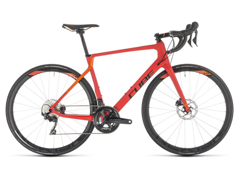 Cube Agree C:62 Race Disc red´n´orange