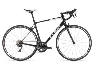 Cube Attain GTC Race carbon´n´white