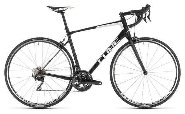 CUBE - Attain GTC Race carbon´n´white