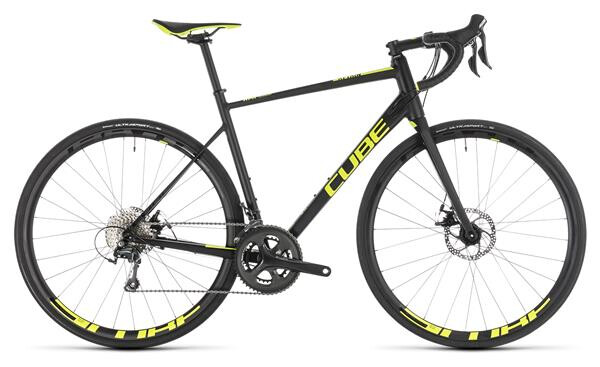 CUBE - Attain Race Disc black´n´flashyellow