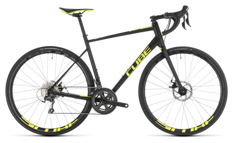 CUBE Attain Race Disc black´n´flashyellow
