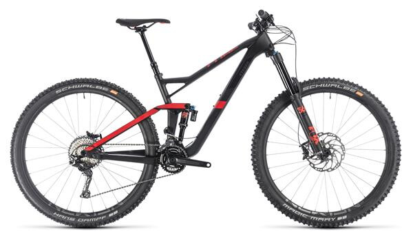 CUBE - Stereo 150 C:62 Race 29 carbon´n´red