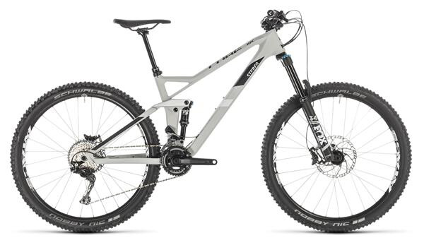CUBE - Stereo 140 HPC Race 27.5 grey´n´white