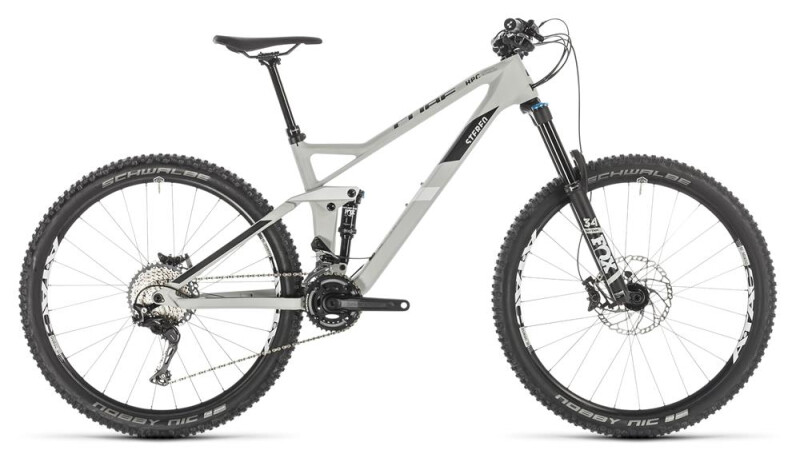 Cube Stereo 140 HPC Race 27.5 grey´n´white Mountainbike