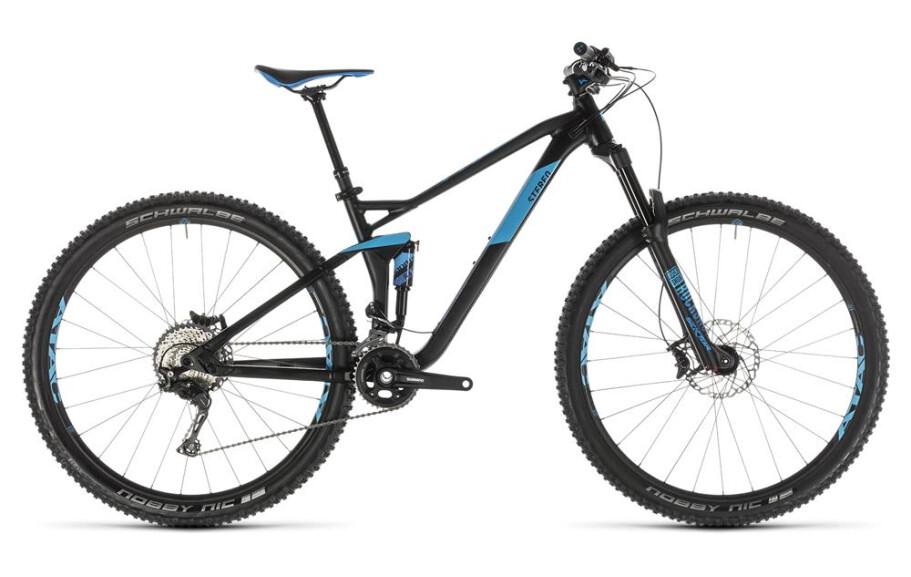 Cube Stereo 120 Race 29 black n blue