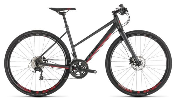 CUBE - SL Road Pro iridium´n´red Trapez