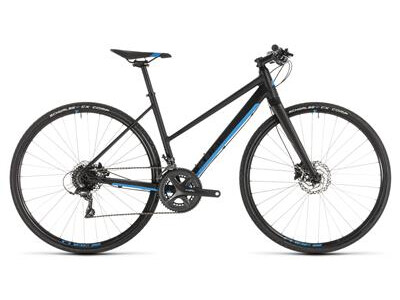 Cube SL Road black´n´blue Trapez