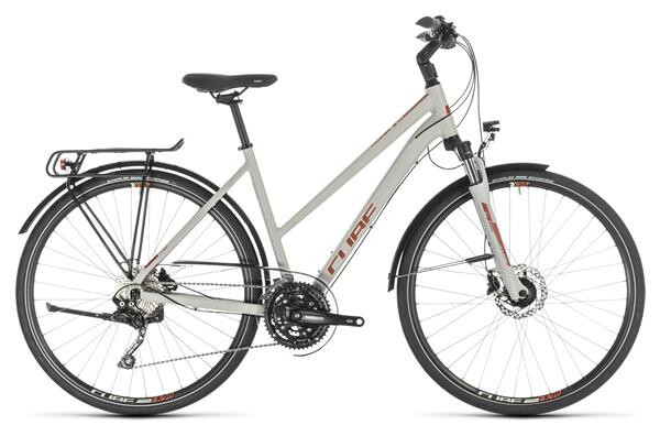CUBE - Touring EXC grey´n´orange Trapez