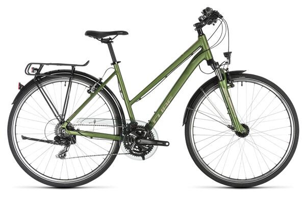 CUBE - Touring green´n´silver Trapez