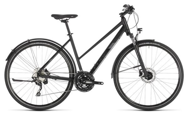CUBE - Nature EXC Allroad black´n´grey Trapez