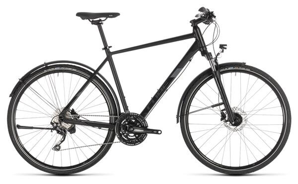 CUBE - Nature EXC Allroad black´n´grey