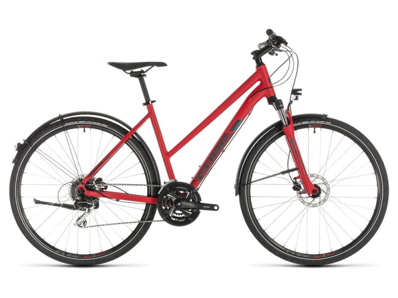 Cube Nature Allroad red´n´grey Trapez