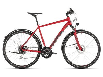 Cube Nature Allroad red´n´grey
