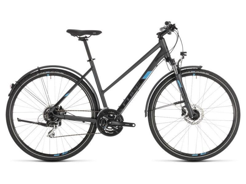 Cube Nature Allroad iridium´n´blue Trapez