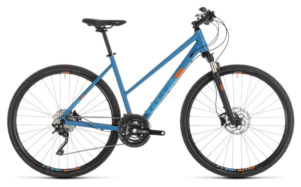 CUBE - Cross Pro blue´n´orange Trapez