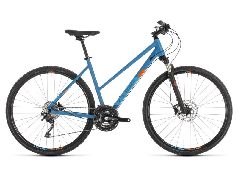Cube Cross Pro blue´n´orange Trapez