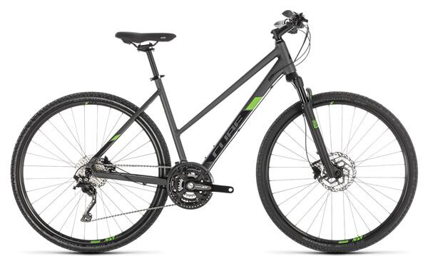 CUBE - Cross Pro iridium´n´green Trapez