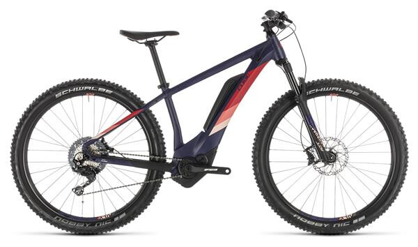 CUBE - Access Hybrid Race 500 darkviolet´n´rose