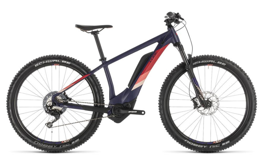 Cube Access Hybrid Race 500 darkviolet´n´rose 2019