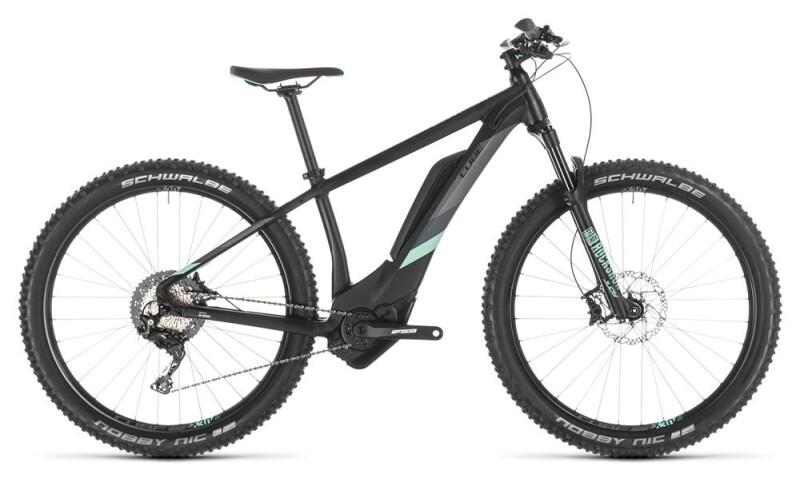 Cube Access Hybrid Race 500 black´n´mint E-Bike