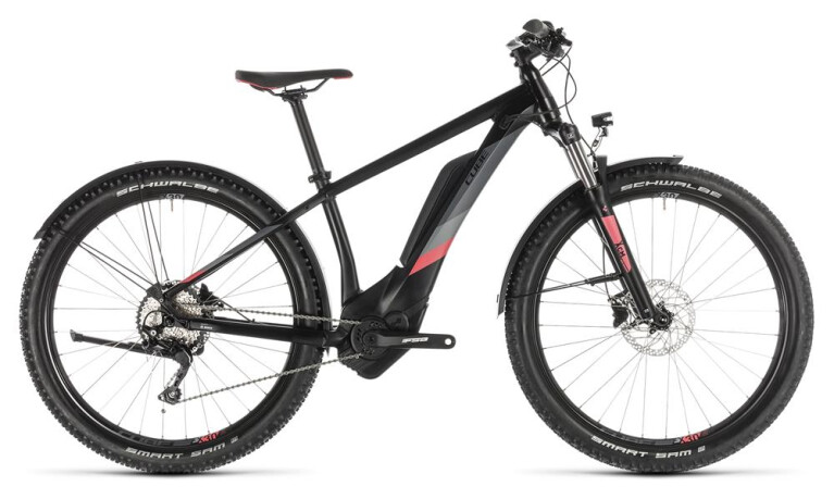 CUBE Access Hybrid Pro 500 Allroad black´n´coral