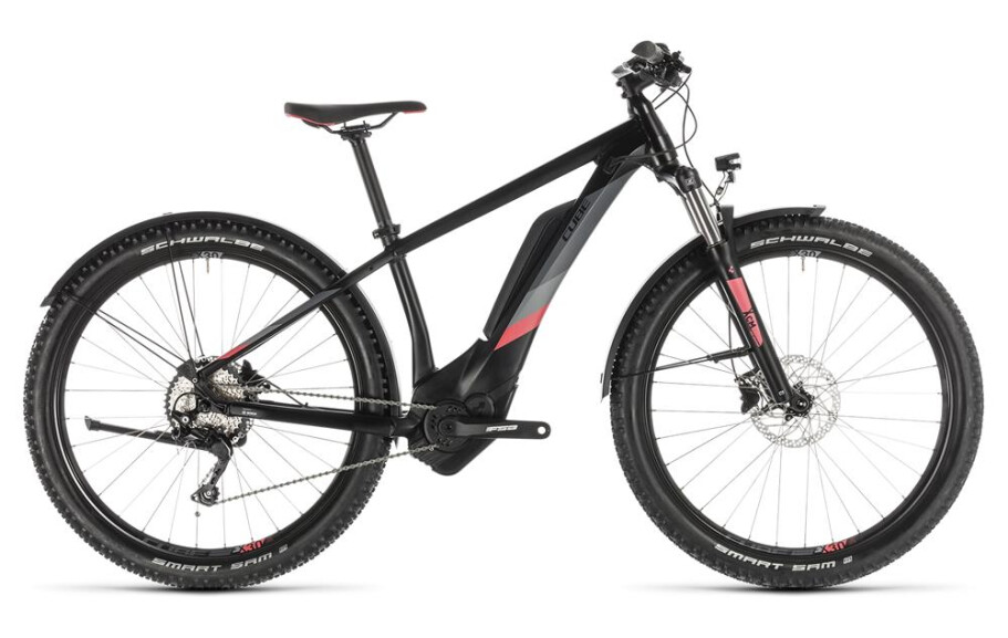 Cube Access Hybrid Pro 500 Allroad black n coral