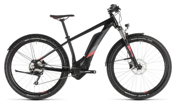 CUBE - Access Hybrid Pro 400 Allroad black´n´coral