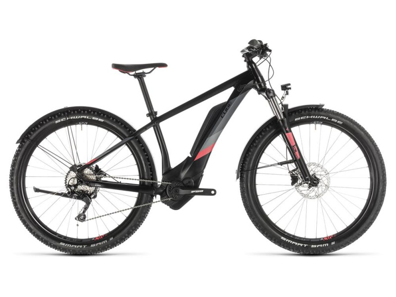 Cube Access Hybrid Pro 400 Allroad black´n´coral