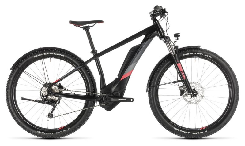 Cube Access Hybrid Pro 400 Allroad black´n´coral E-Bike