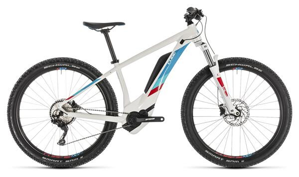 CUBE - Access Hybrid Pro 500 white´n´blue